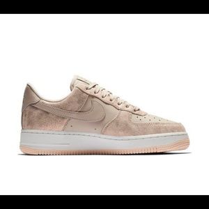 Pinkish metallic Air Force 1.